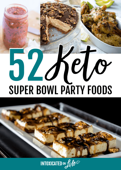 52 Keto Super Bowl Party Foods