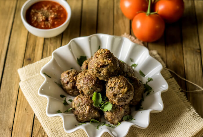 52 Keto Super Bowl Party Foods: Basic Grain Free Meatball