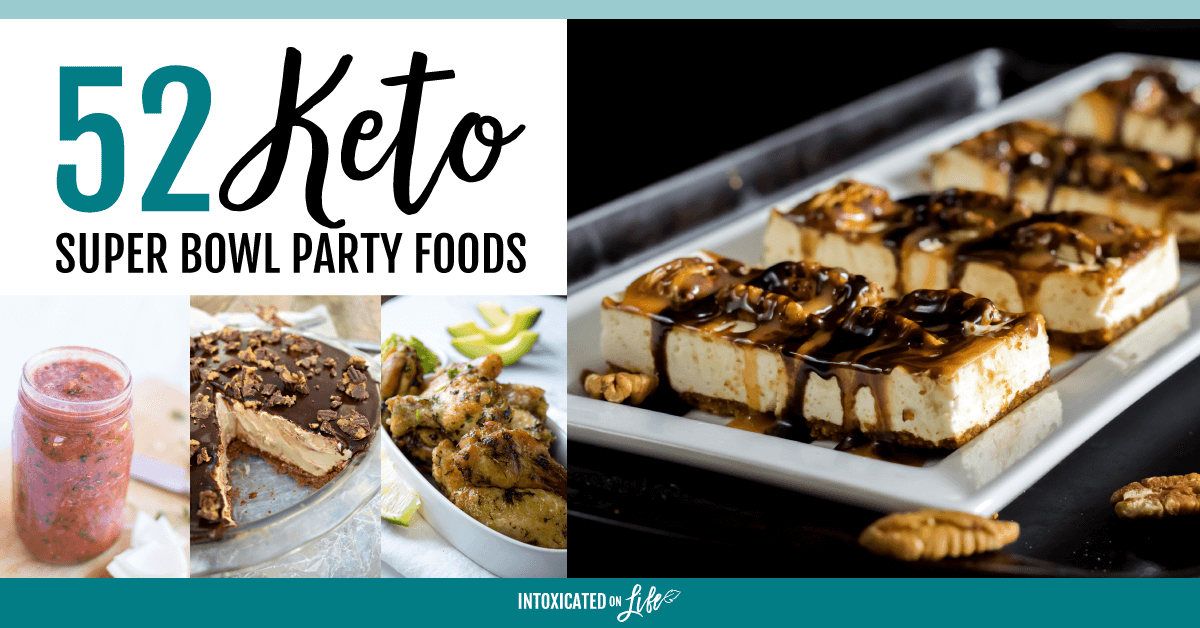 Keto Super Bowl Party Foods