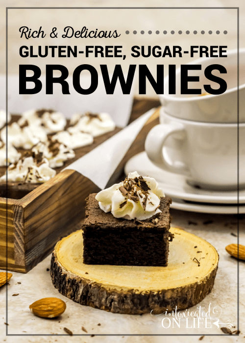 Rich And Dellicious Gluten Free Sugar Free Brownies