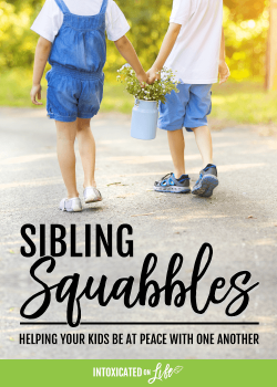 Sibling Squabbles: helping your kids be at peace with one another