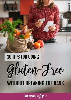 10 Tips for Going Gluten Free on a Budget