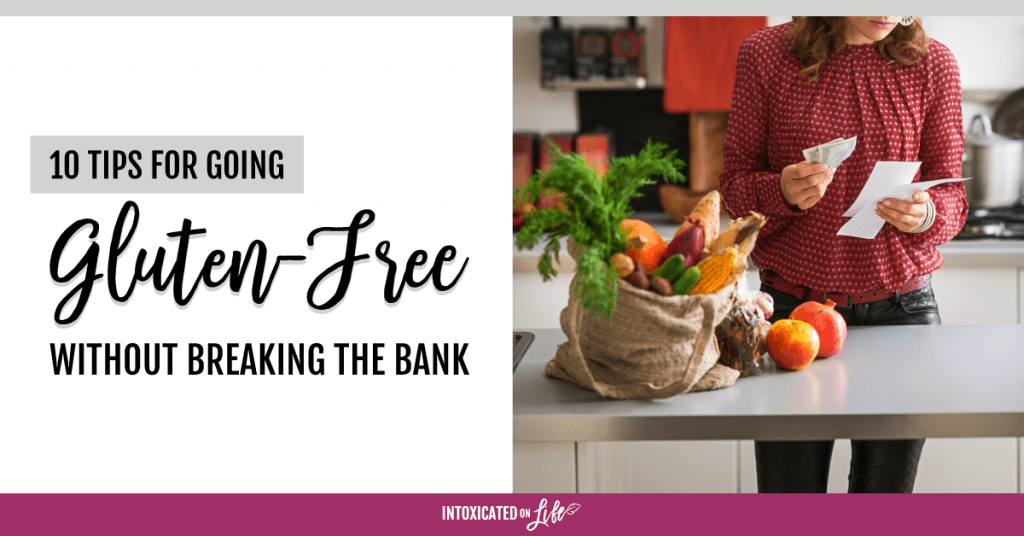 10 Tips For Going Gluten Free Without Breaking The Bank FB
