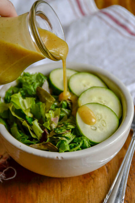 3 Ingredient Honey Mustard Dressing