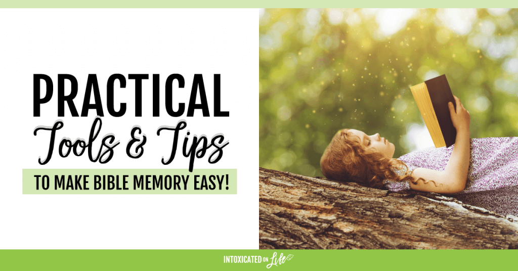 Practical Tools And Tips To Make Bible Memory Easy FB