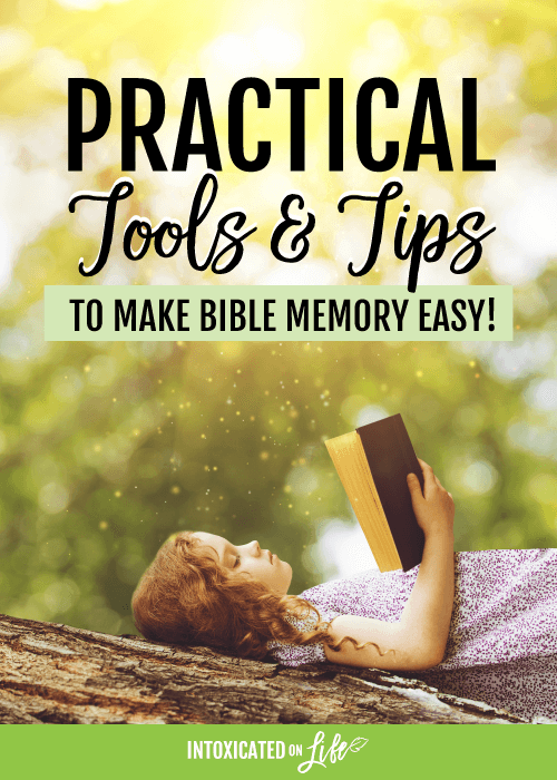 Practical Tools And Tips To Make Bible Memory Easy