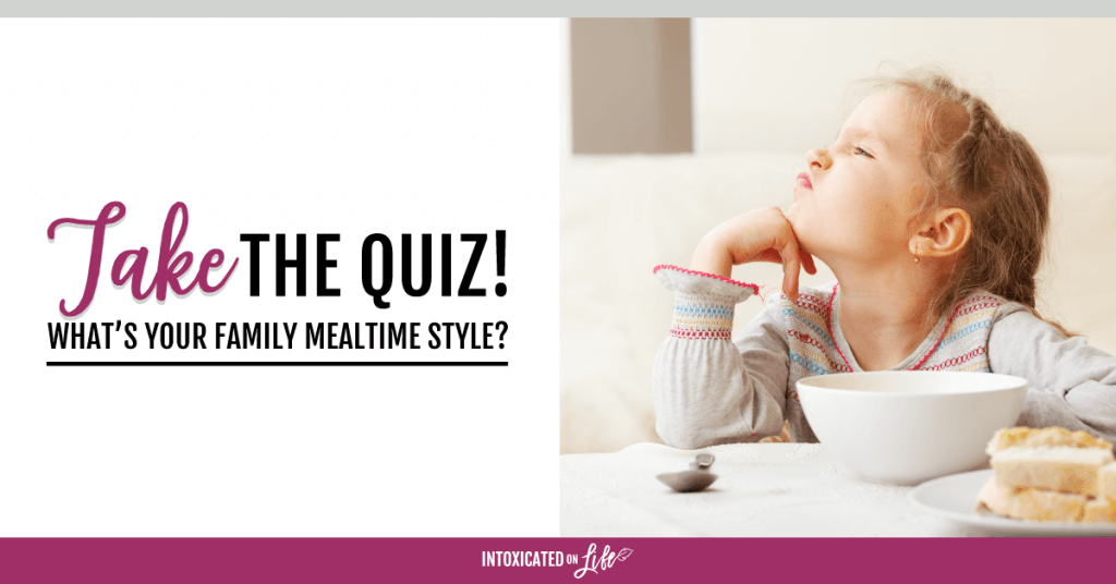 Take the quiz - What's your mealtime style?