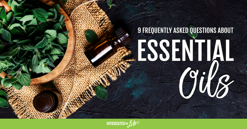 Frequently asked questions about essential oils