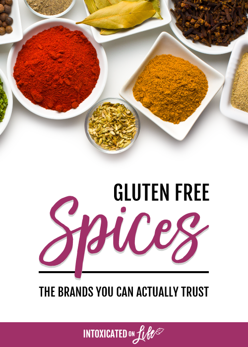 Gluten Free Spices The Brands You Can Actually Trust