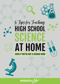 6 Tips for Teaching High School Science at Home (even if you're not a science nerd)
