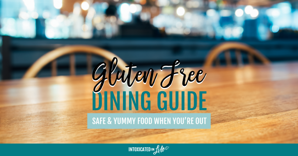 Gluten Free Dining Guide Safe Yummy Food When Youre Out FB