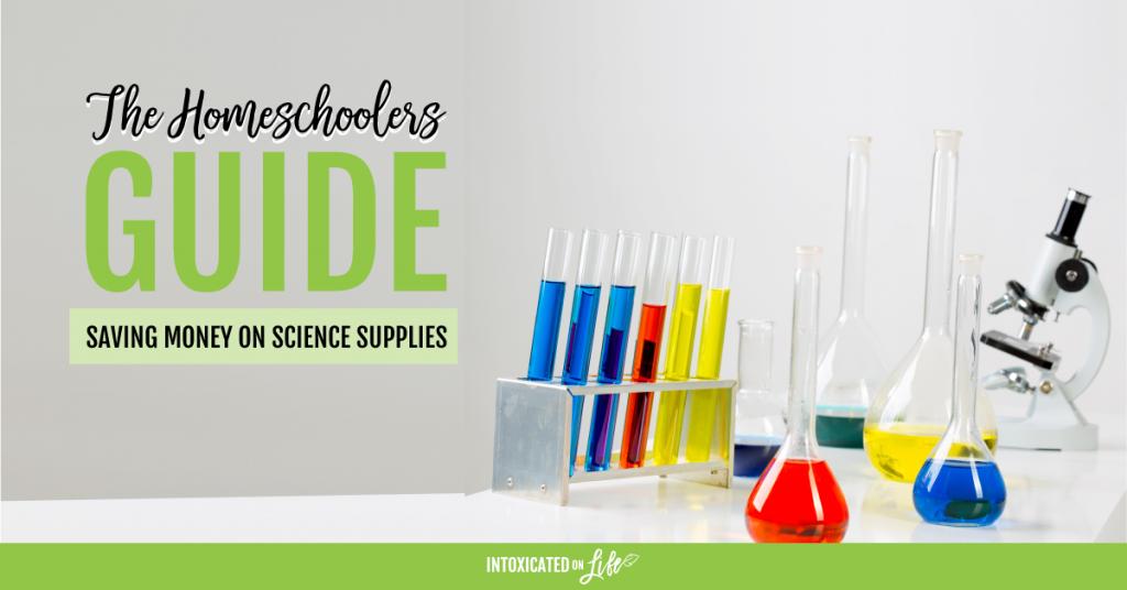 Saving money on science supplies