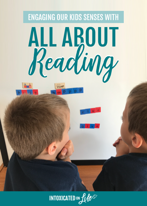 Engaging Our Kids Senses With All About Reading