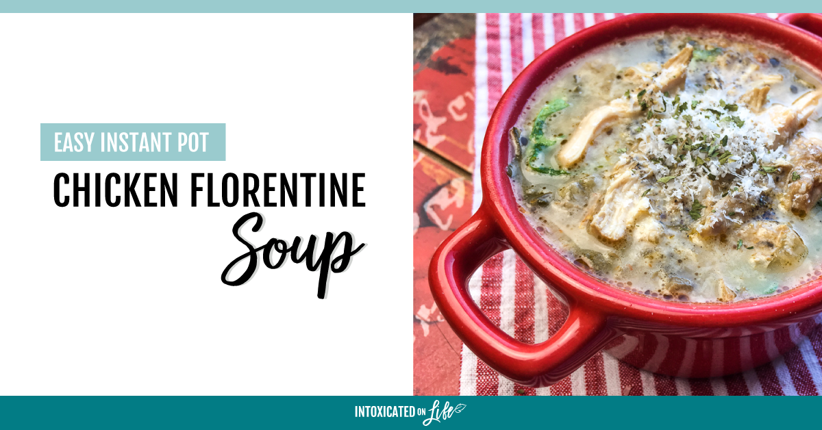 Easy Instant Pot Chicken Florentine Soup