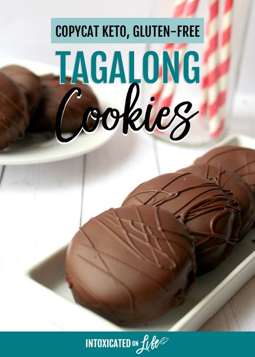 Copycat Keto, Gluten-Free Tagalong Cookies