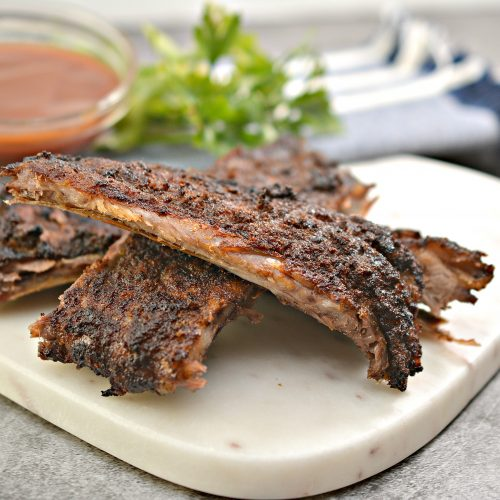 Easy Keto Dry Rub Pork Ribs