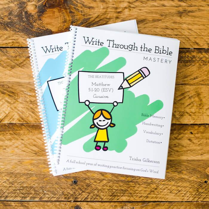 Write Through the Bible Matthew Mastery